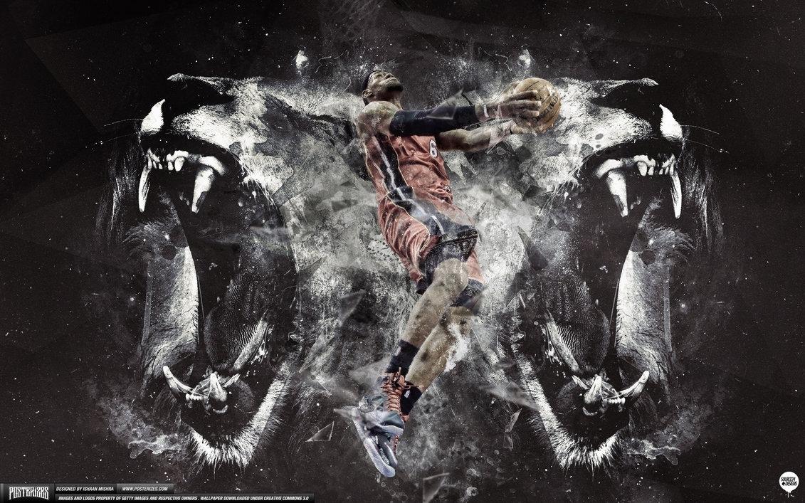 lebron james lion heart wallpaperishaanmishra on deviantart