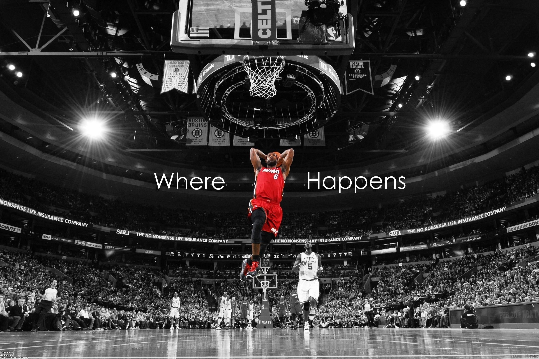 lebron james wallpaper dunk ·①