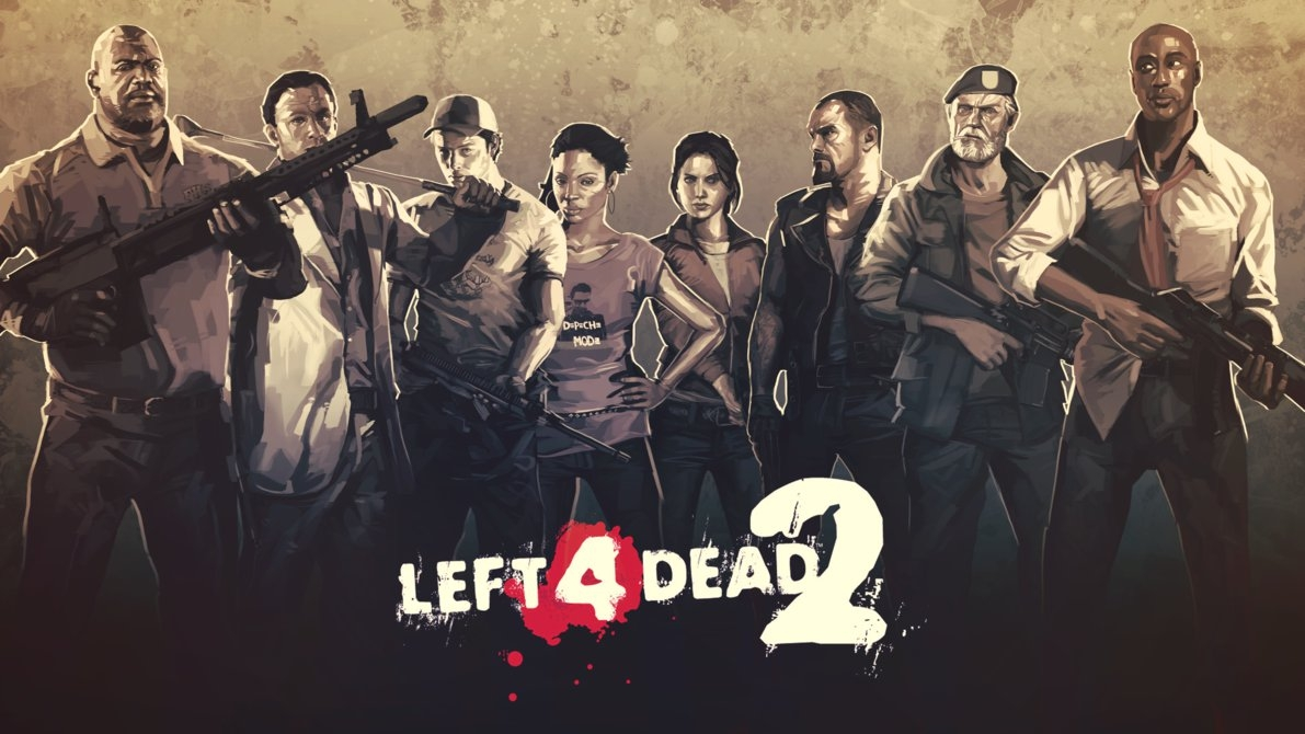 left 4 dead 2 wallpaperxtermination on deviantart
