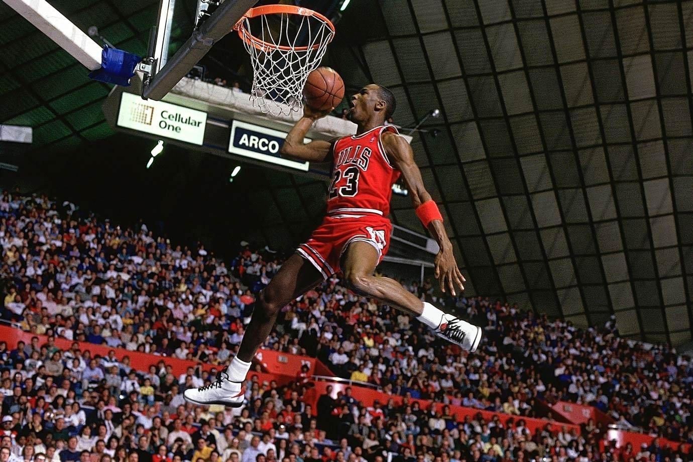 l'histoire de la photo du dunk mythique de michael jordan ! - cool kicks