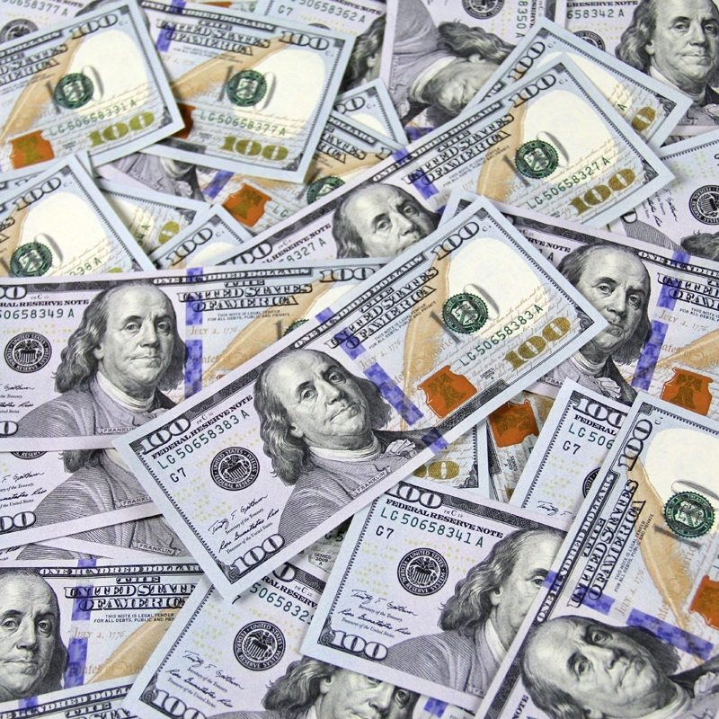 10 New 100 Dollar Bills Background FULL HD 1080p For PC Background 2020 free download license free money images 100 bills one hundred dollar bills 4 800x800