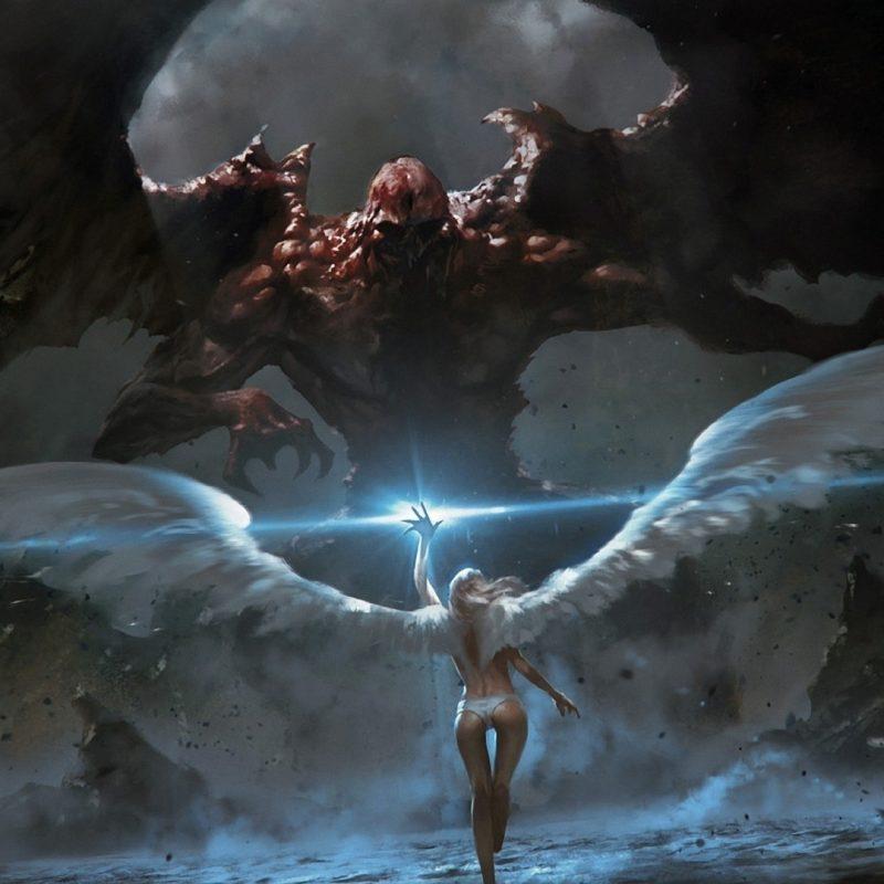 10 Latest Good Vs Evil Battle Wallpaper FULL HD 1080p For PC Background 2020 free download light angels women fantasy wings fight fantasy art battles 800x800