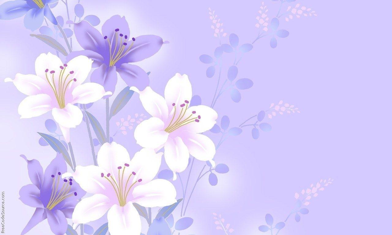 light violet flower background 12 | background check all