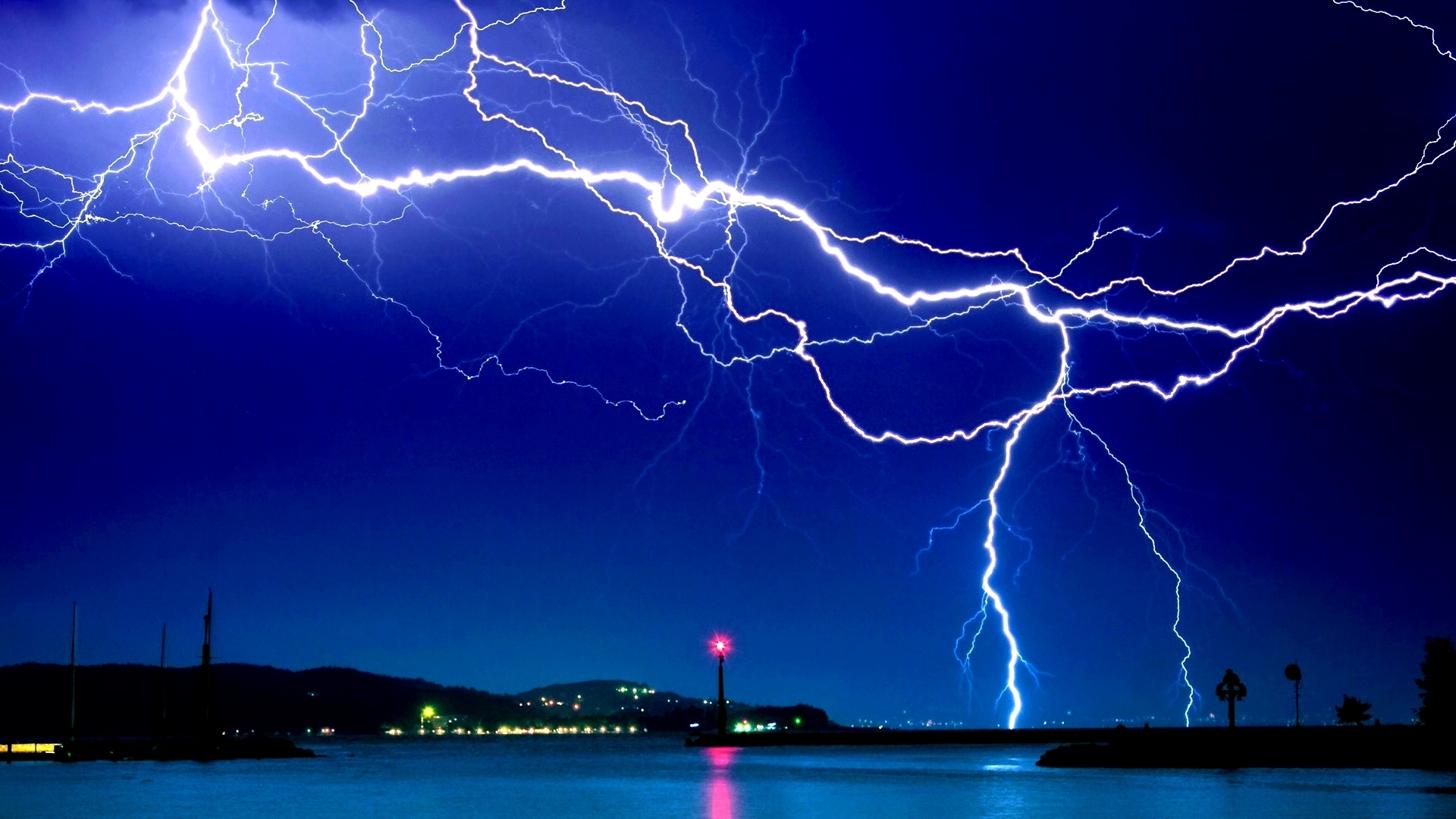 lightning full hd quality wallpapers, 46+ widescreen wallpapers