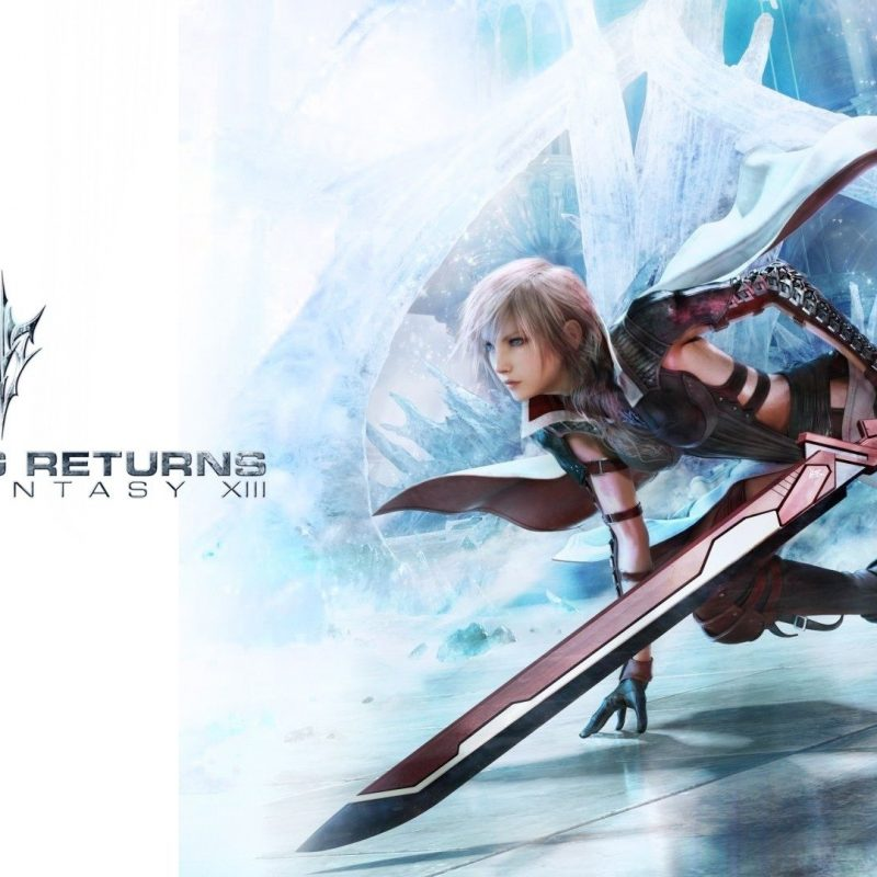 10 Most Popular Final Fantasy 13 Wallpaper Hd FULL HD 1920×1080 For PC Background 2018 free download lightning returns final fantasy xiii full hd wallpaper and 800x800
