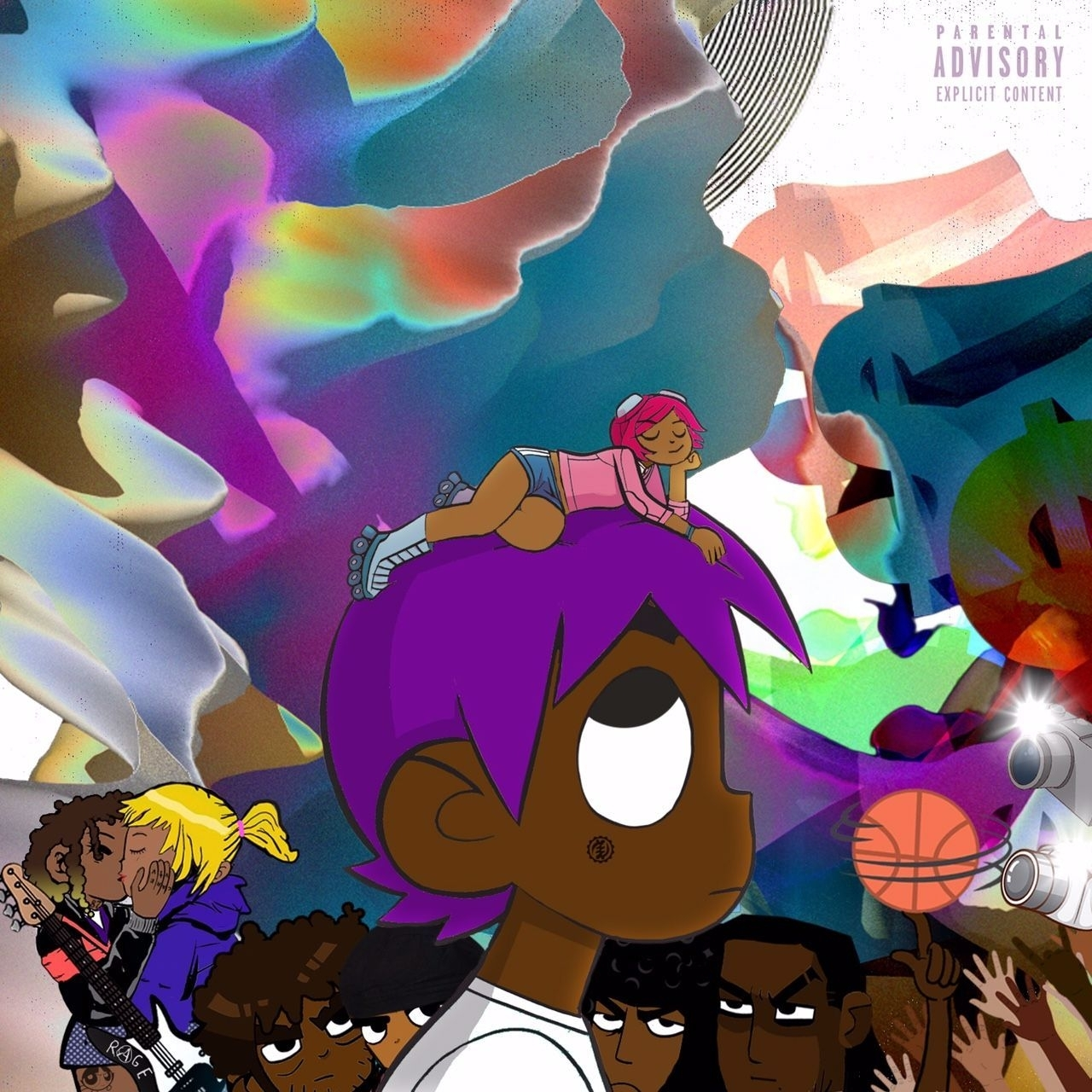 lil uzi vert - money longer album cover | music inspo | pinterest