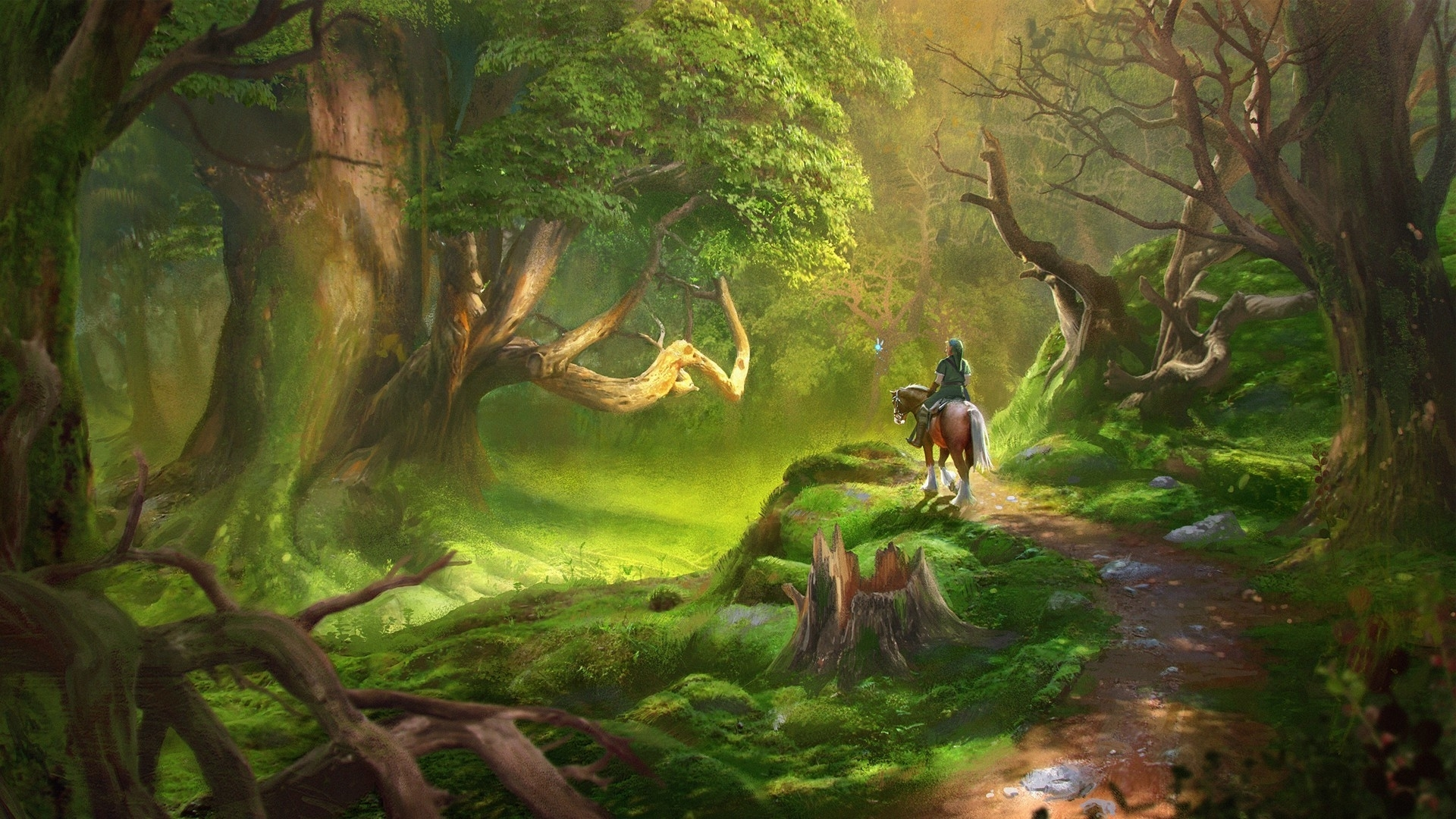 link, video games, the legend of zelda, forest wallpapers hd