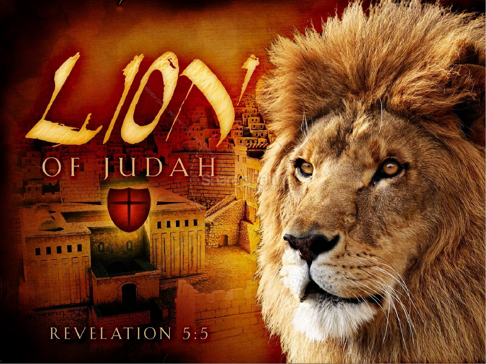 lion of judah church powerpoint | easter sunday resurrection powerpoints