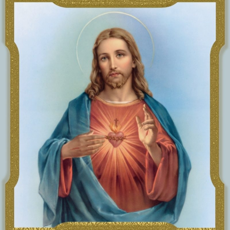 10 Top Sacred Heart Of Jesus Image FULL HD 1080p For PC Desktop 2020 free download litanies 5 800x800