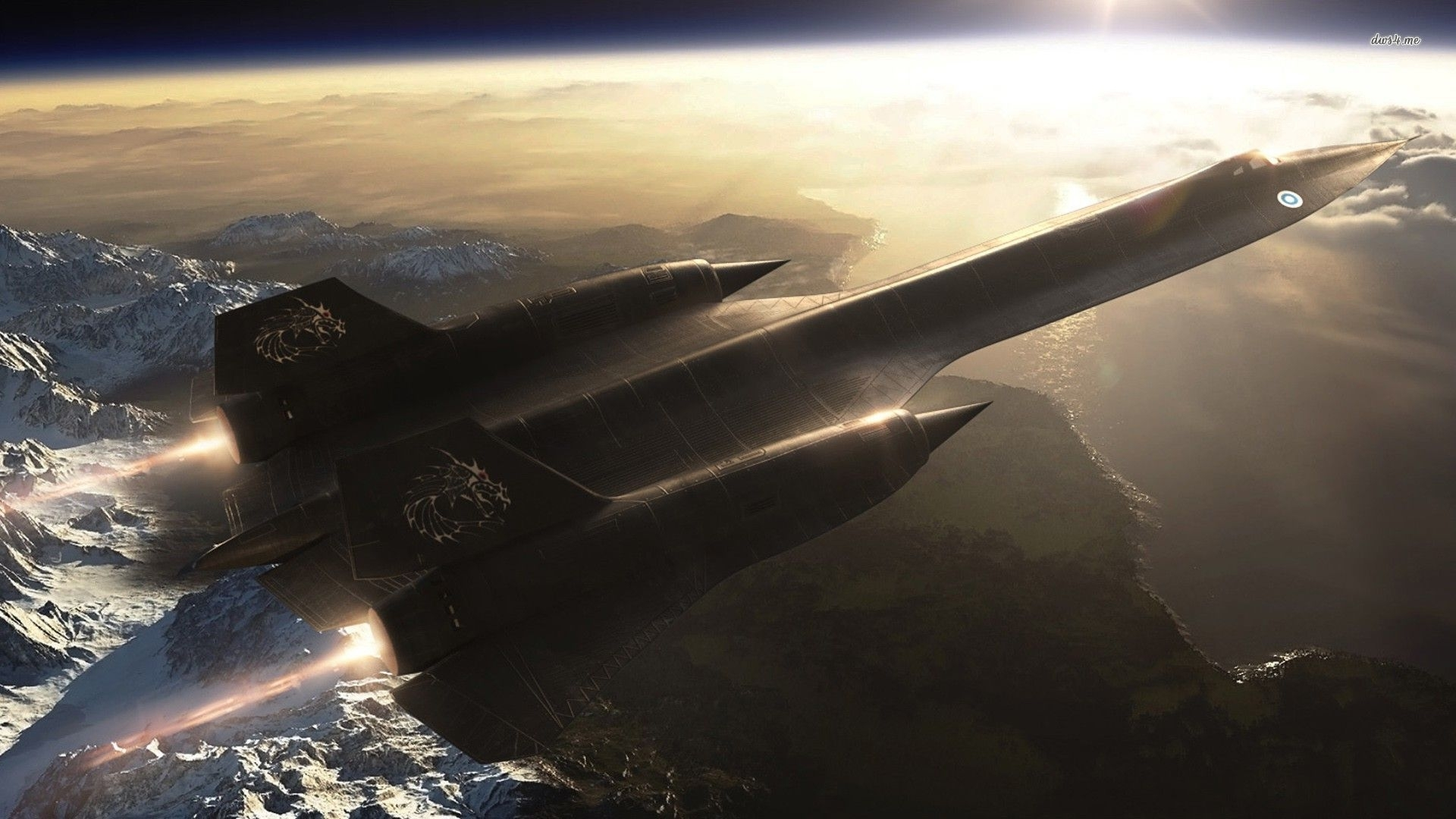 lockheed sr-71 blackbird wallpaper - aircraft wallpapers
