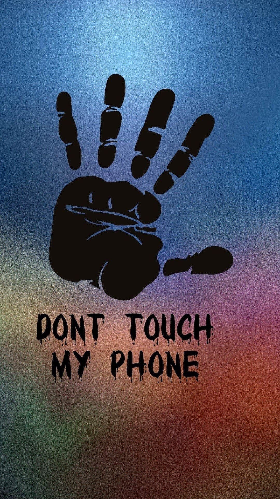 lockscreen don't touch! | fond ecran et Écran