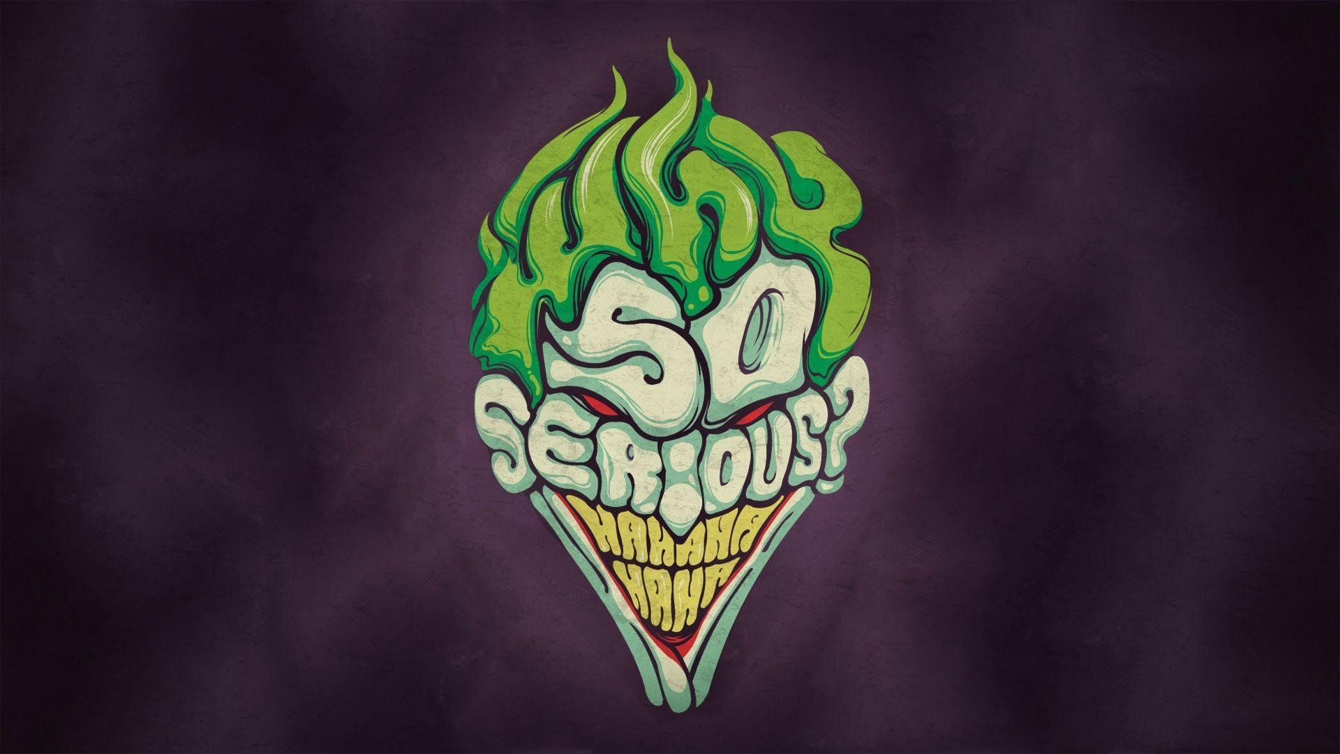 l'œuvre d'art joker why so serious? hd papier peint de bureau: écran