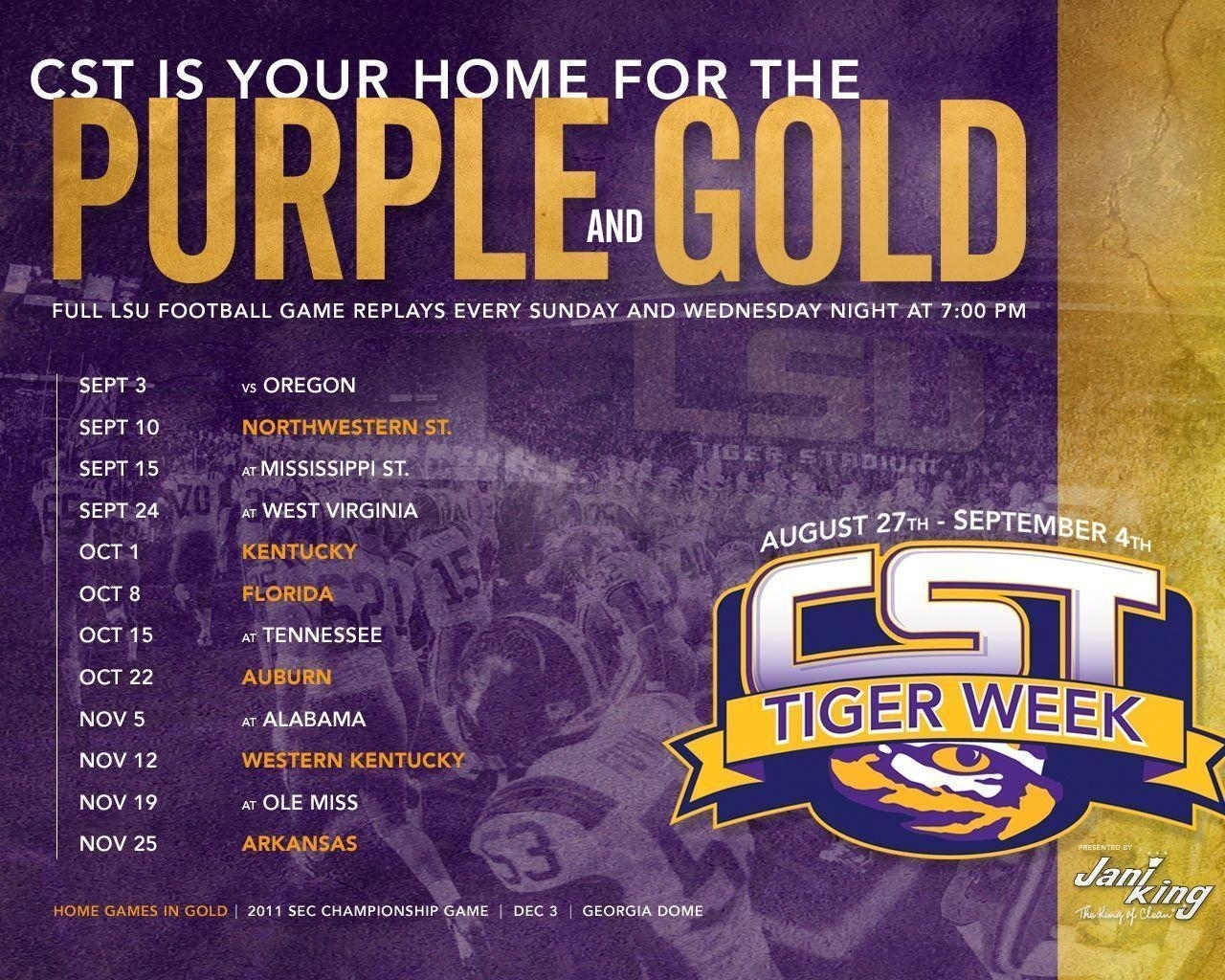 lsu football schedule 2016 wallpapers - wallpaper cave