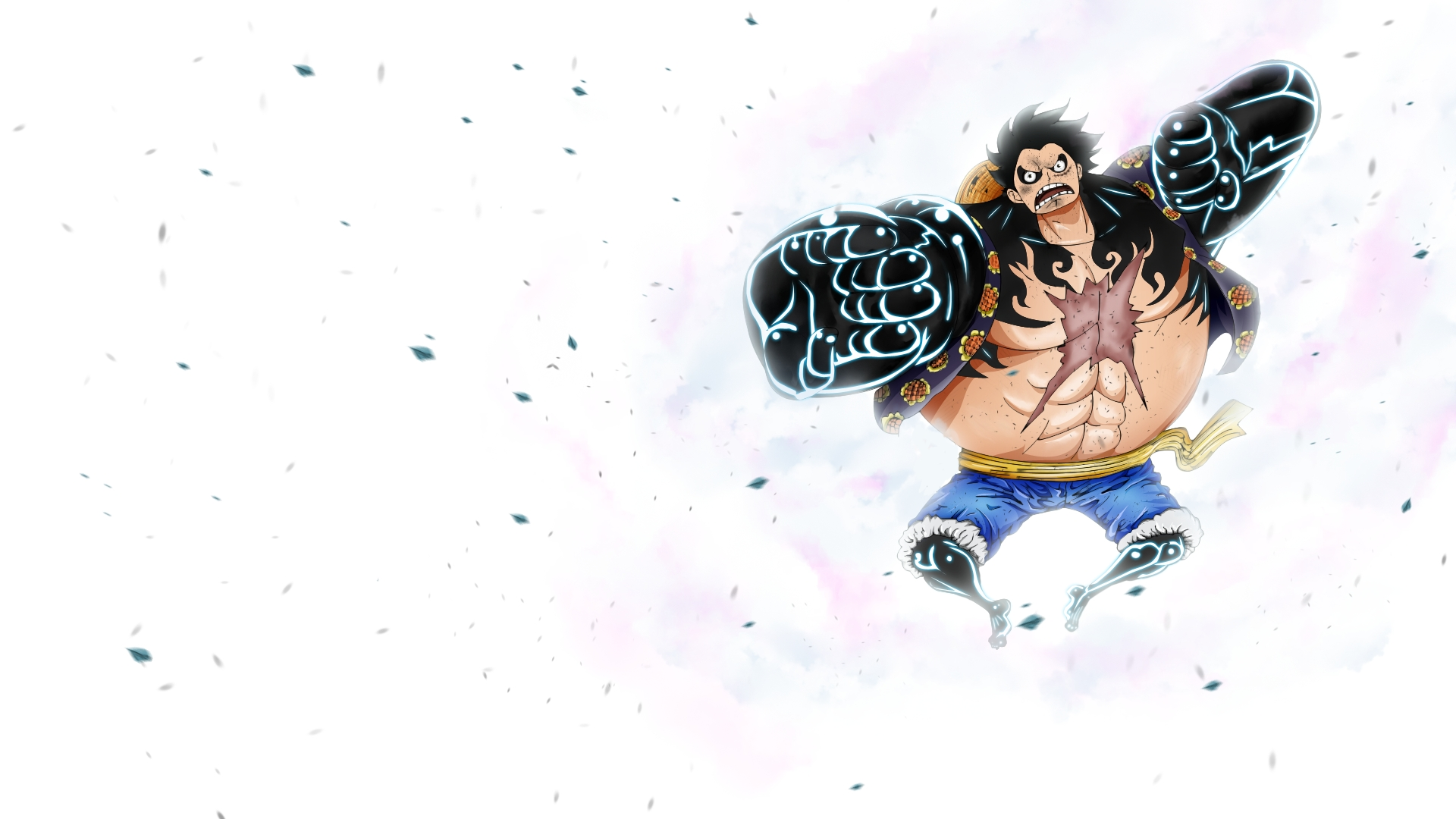 luffy gear 4 full hd wallpaper and background image | 1920x1080 | id