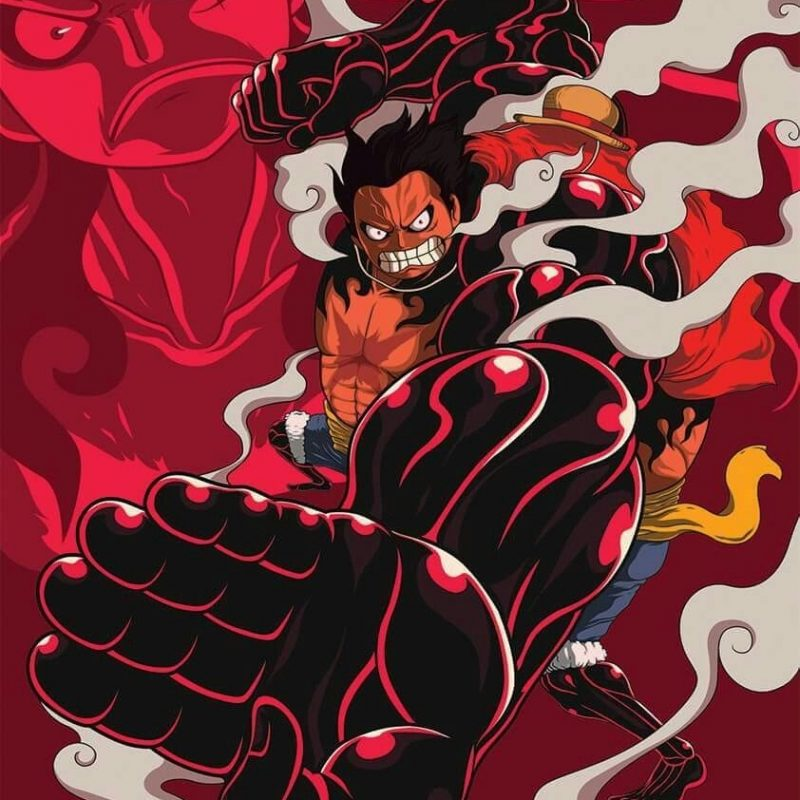 10 Best Luffy Gear 4 Wallpaper FULL HD 1080p For PC Background 2021 free download luffy gear 4 one piece pinterest anime manga and naruto 800x800