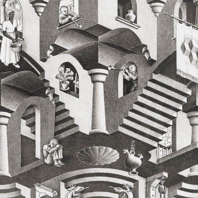 10 Latest Mc Escher Wall Paper FULL HD 1920×1080 For PC Desktop 2021 free download m c escher wallpapers wallpaper cave 2 800x800