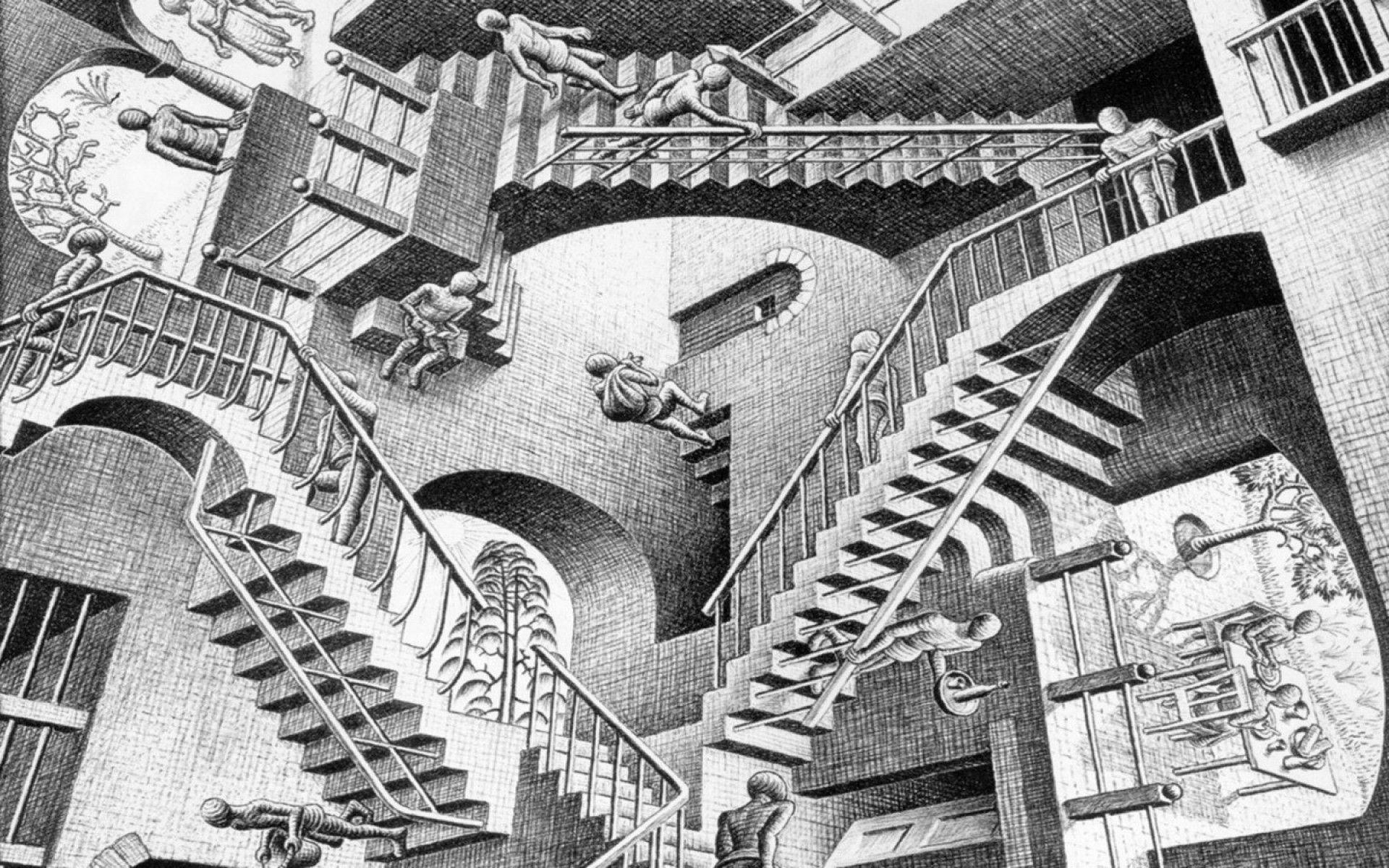 m.c. escher wallpapers - wallpaper cave