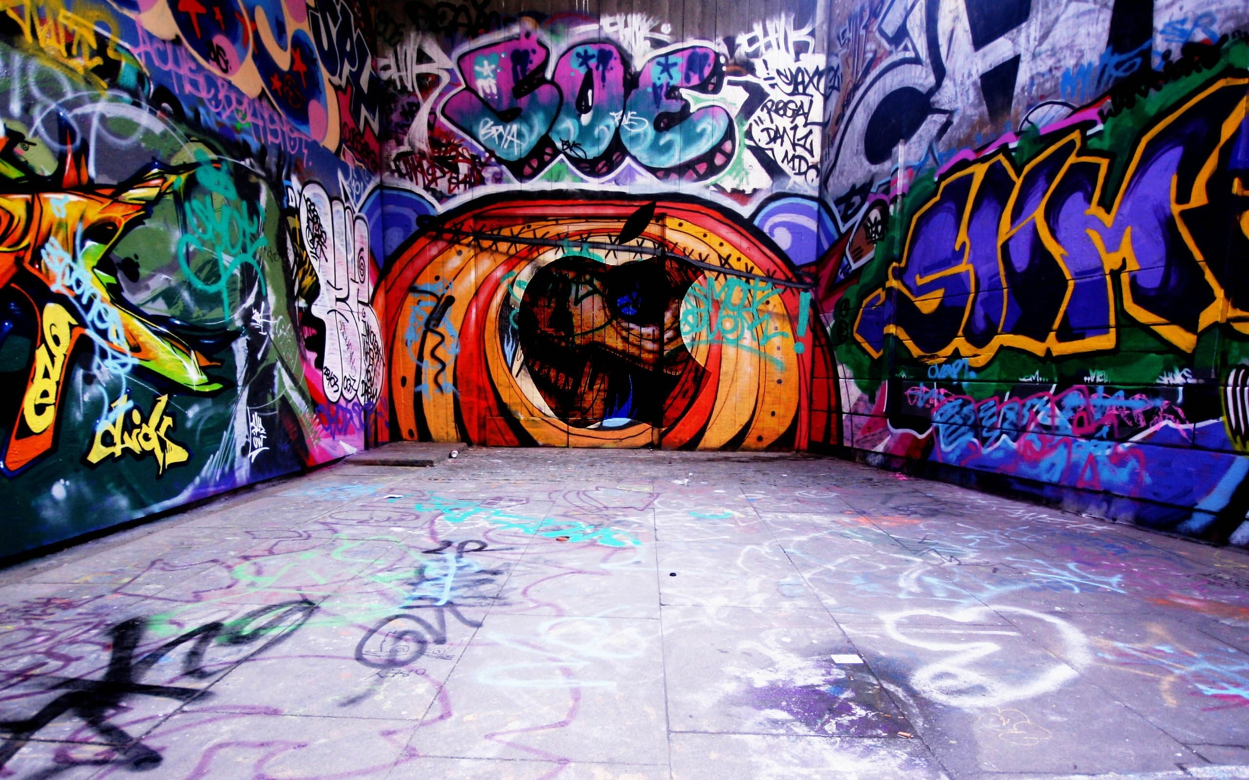 mac new wallpapers underground graffiti-823613 (2560×1600