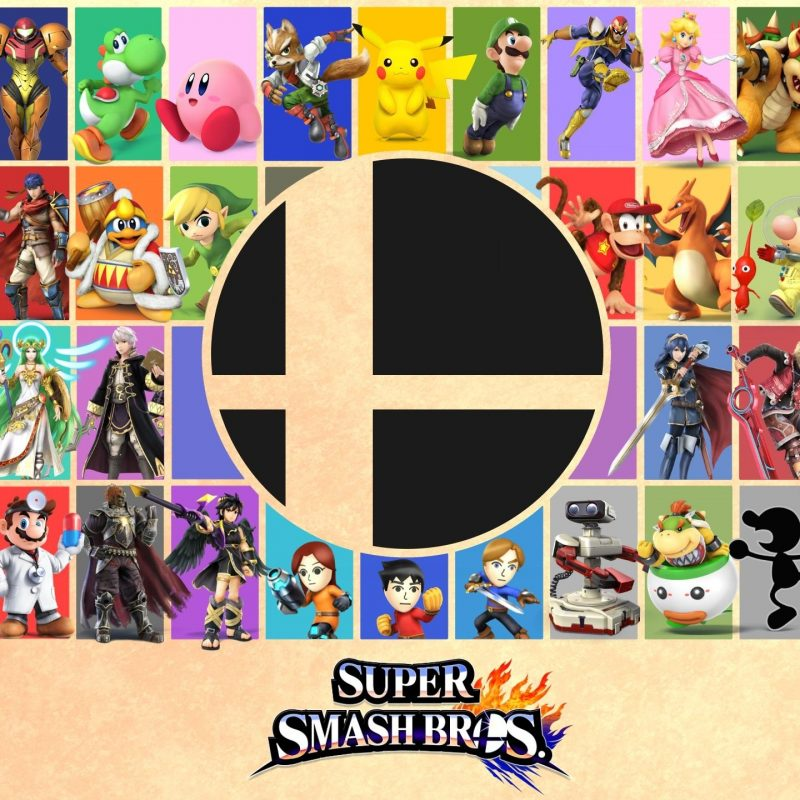 10 New Super Smash Bros Wallpaper FULL HD 1920×1080 For PC Background 2018 free download made a super smash bros wallpaper poster today thought you guys 1 800x800