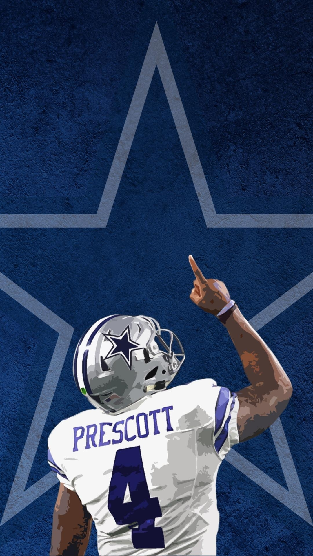 made this dak iphone wallpaper if anyone wants to use it : cowboys
