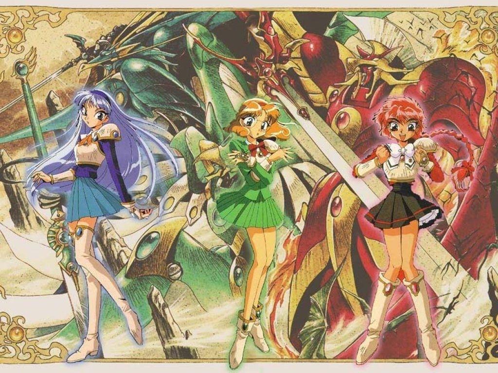 magic knight rayearth - clamp - wallpaper #108589 - zerochan anime