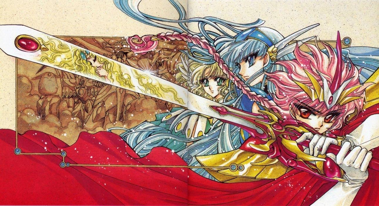 magic knight rayearth series ova wallpaper | 4778x2595 | 549076