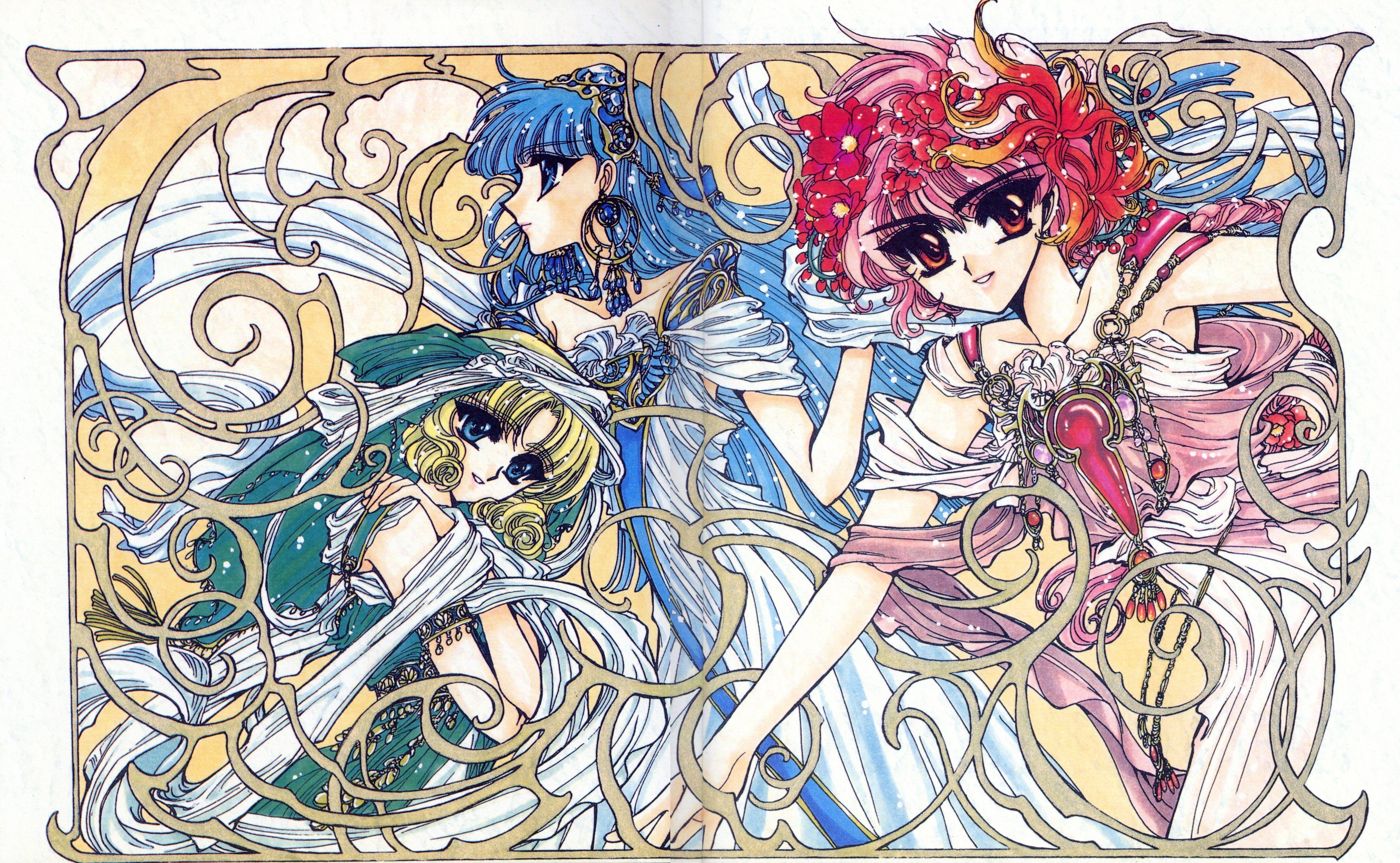 magic knight rayearth wallpapers - wallpaper cave