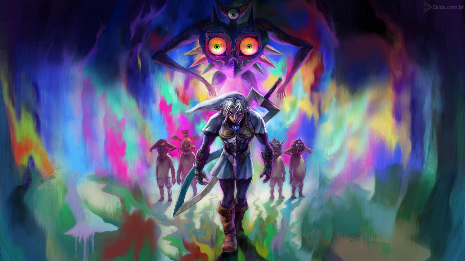 majoras mask background wallpapers 22012 - baltana