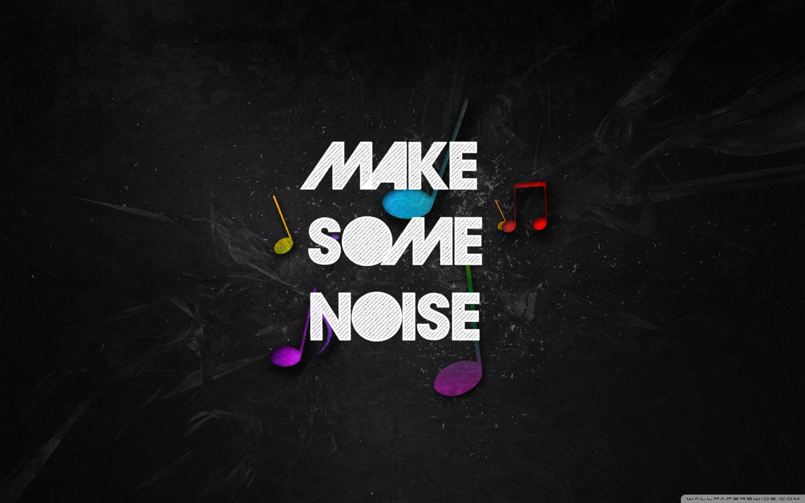 make some noise ❤ 4k hd desktop wallpaper for 4k ultra hd tv • dual