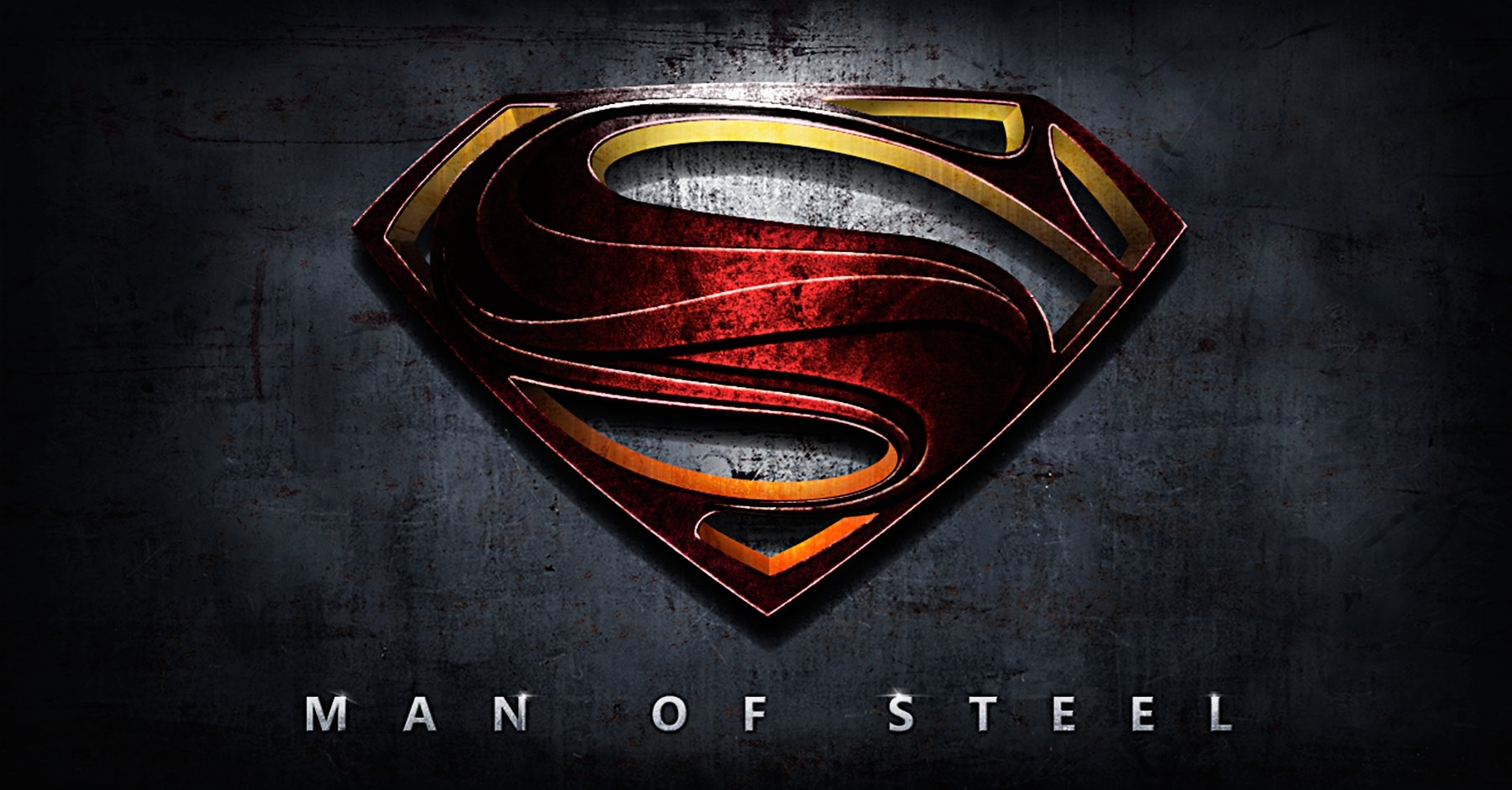 man of steel movie poster tutorial - superman logo