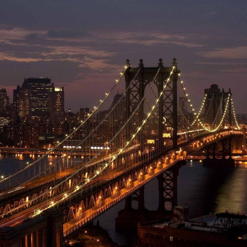 10 Top New York Night Wallpapers FULL HD 1920×1080 For PC Background 2018 free download manhattan bridge new york city night wallpaper hd travel 800x800