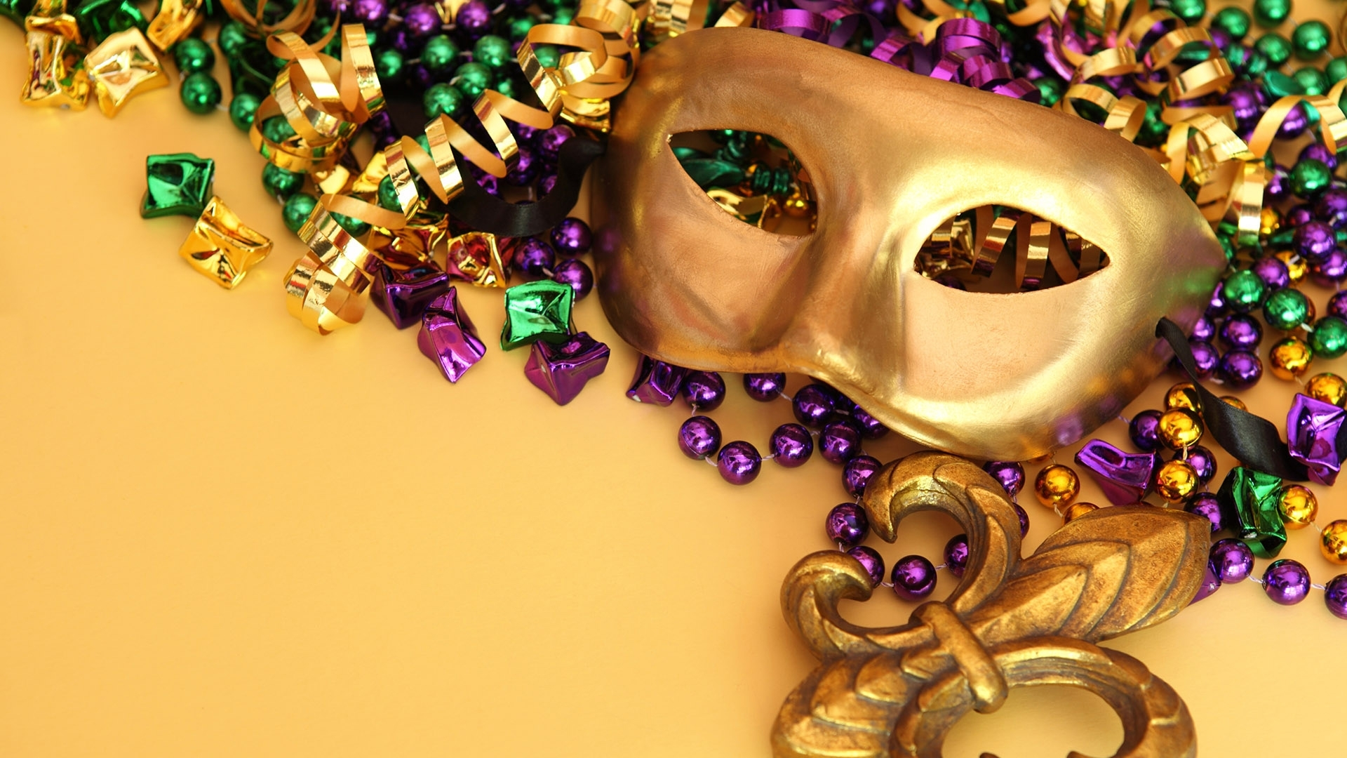 mardi gras festival masks hd wallpaper - stylishhdwallpapers