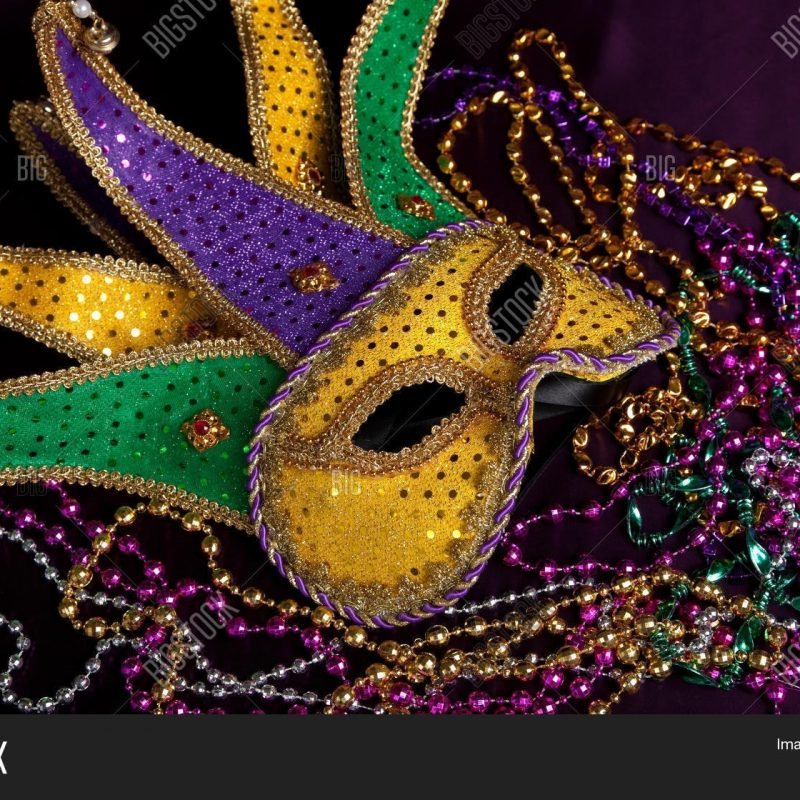 10 Best Mardi Gras Mask Wallpaper FULL HD 1080p For PC Desktop 2018 free download mardi gras mask beads on purple image photo bigstock 800x800