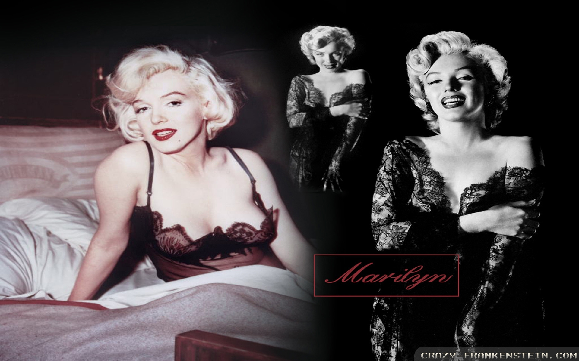 marilyn monroe wallpapers - female celebrity - crazy frankenstein