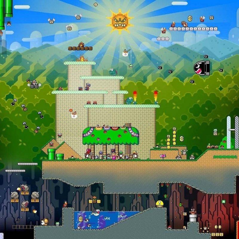 10 Best Super Mario World Wallpaper Hd FULL HD 1080p For PC Desktop 2020 free download mario full hd fond decran and arriere plan 1920x1080 id212632 800x800