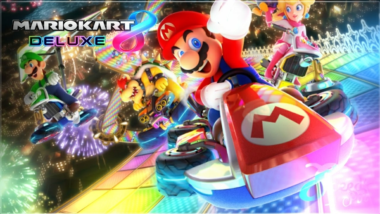 10 Latest Mario Kart 8 Wallpaper FULL HD 1080p For PC