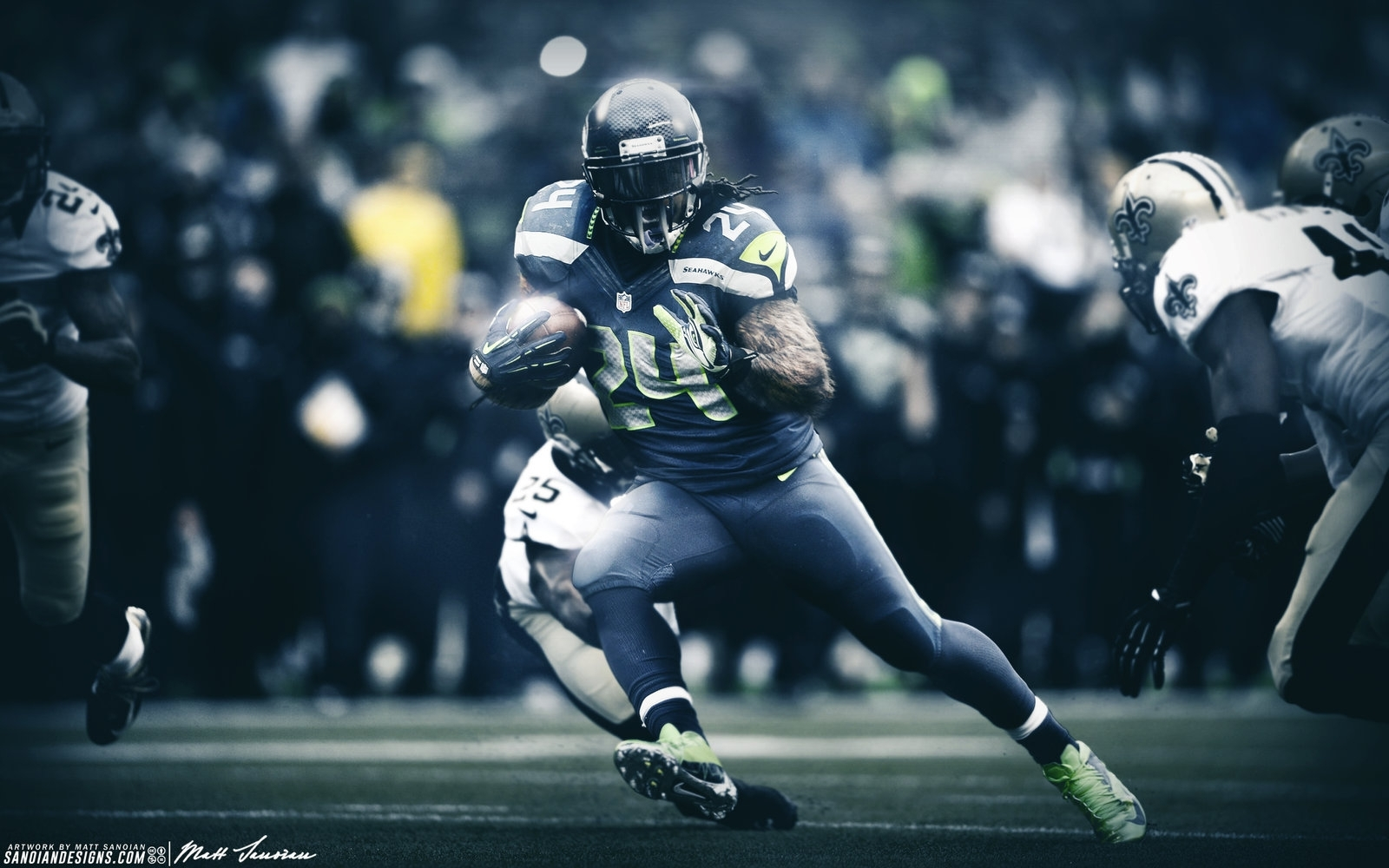 marshawn lynch beast modesanoinoi on deviantart