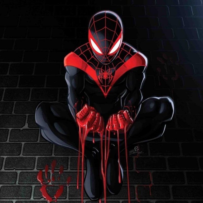 10 New Miles Morales Spider Man Wallpaper FULL HD 1920×1080 For PC Background 2018 free download marvel comics august 2017 solicitations spider man pinterest 800x800