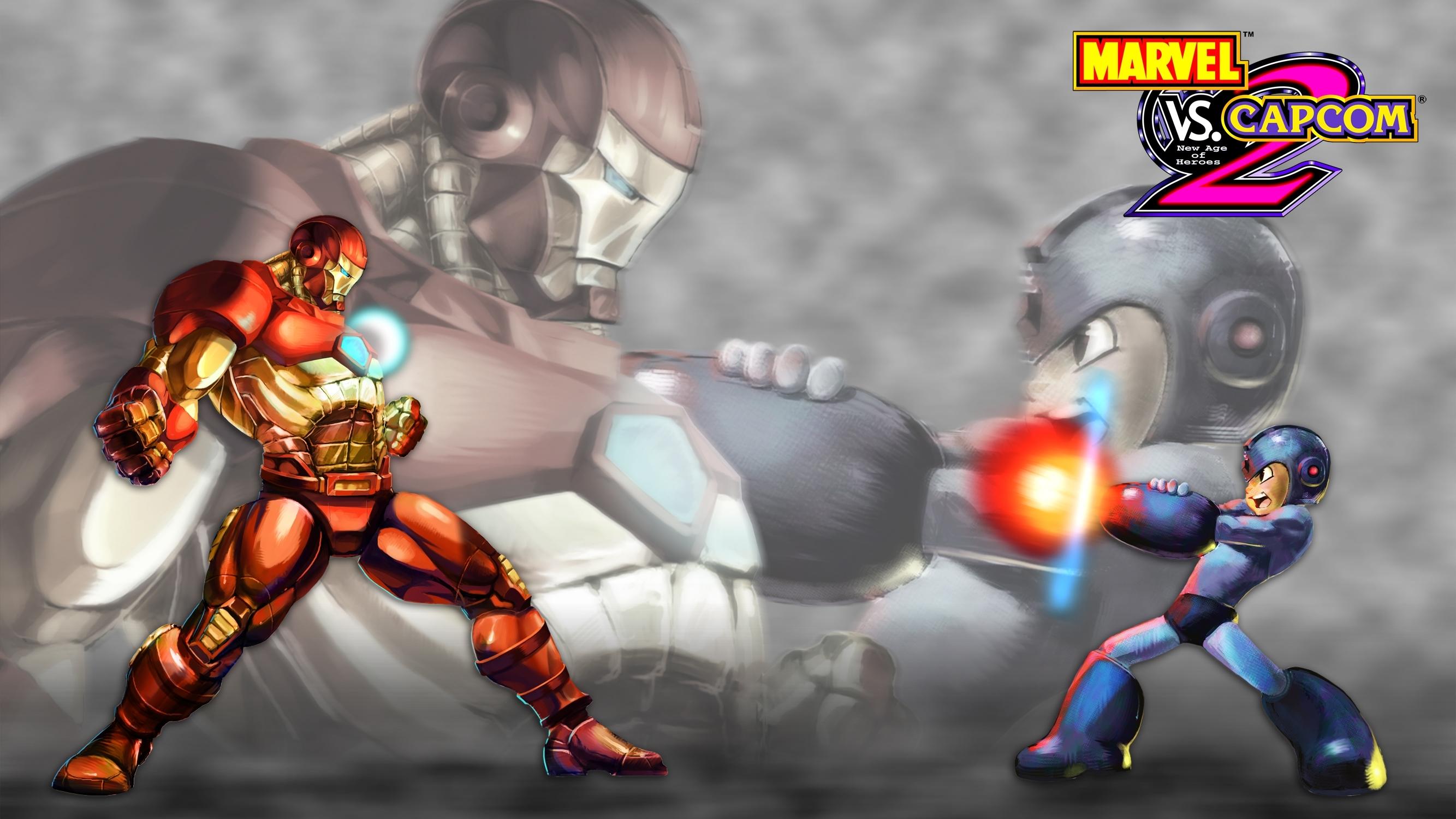 marvel vs. capcom 2 full hd wallpaper and background image
