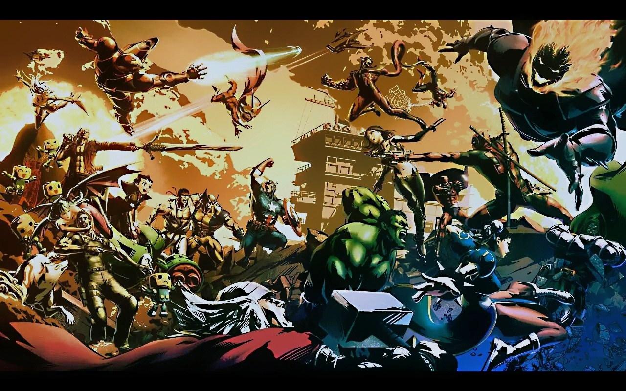 marvel vs. capcom wallpaper #494288 - zerochan anime image board