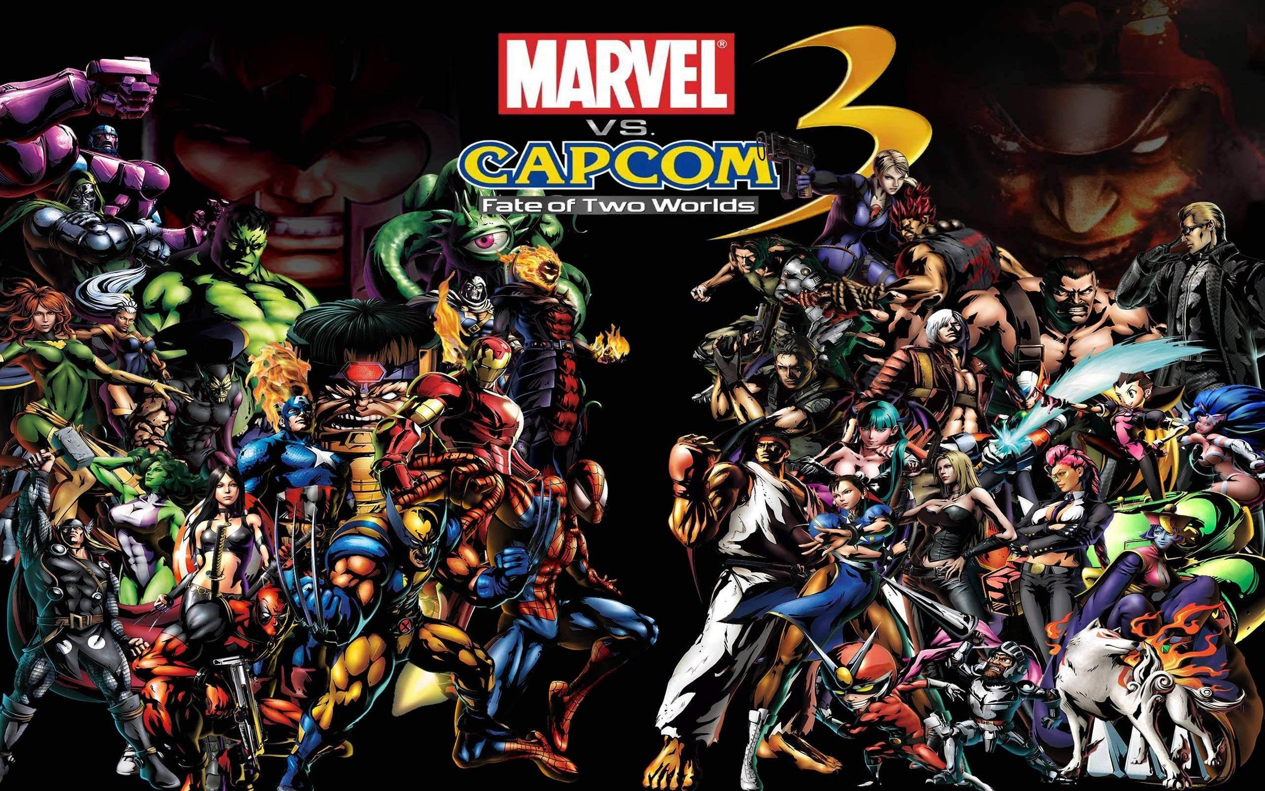 marvel vs capcom wallpapers - wallpaper cave