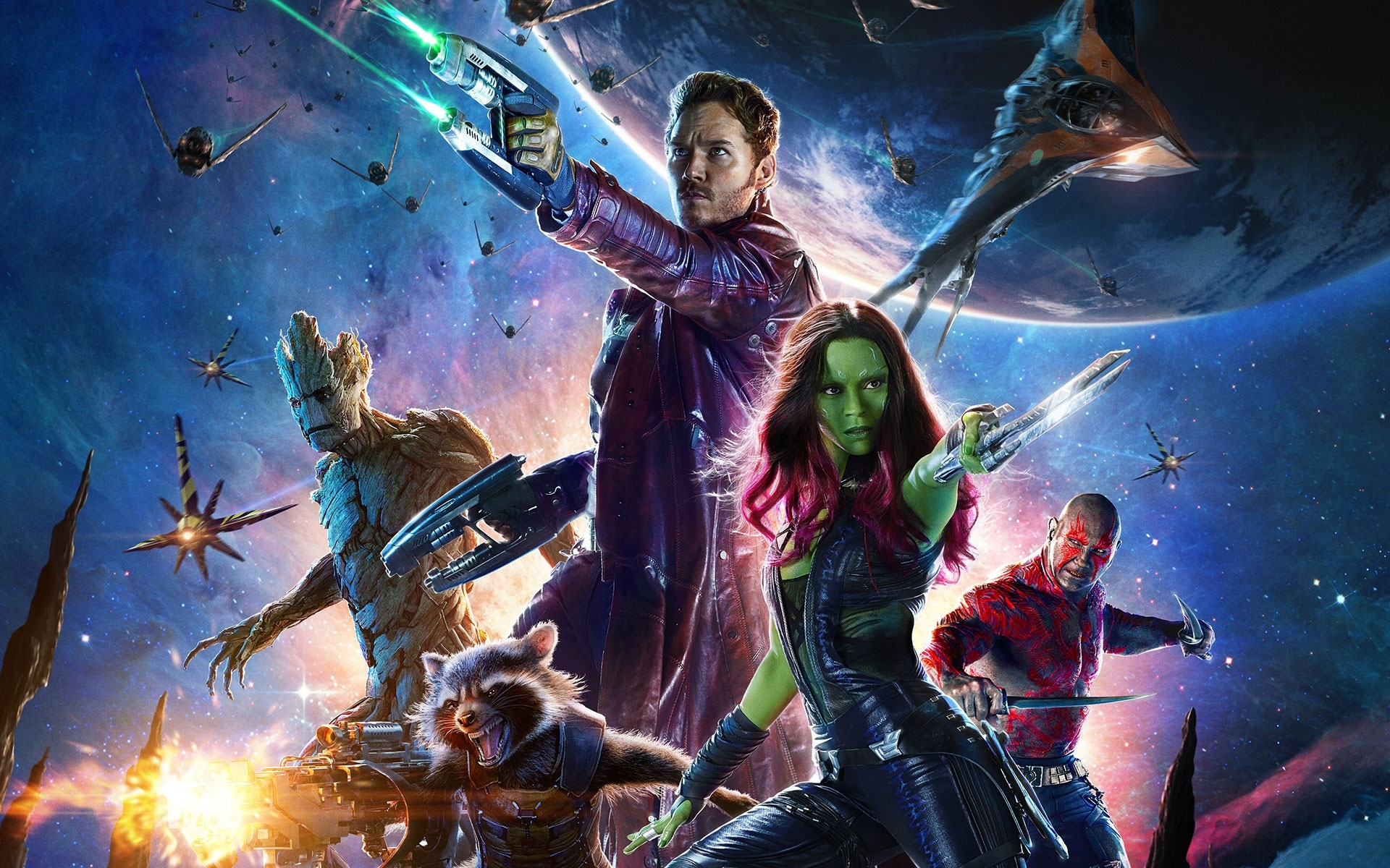 marvel's guardians of the galaxy 2014 iphone & desktop wallpapers hd