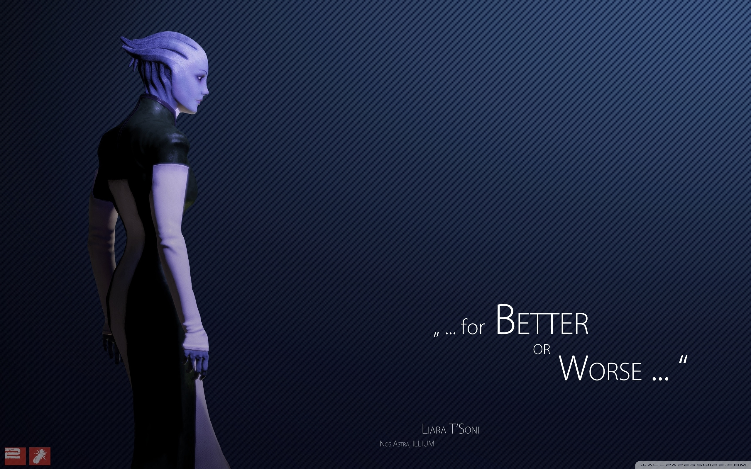 mass effect 2 liara ❤ 4k hd desktop wallpaper for • tablet