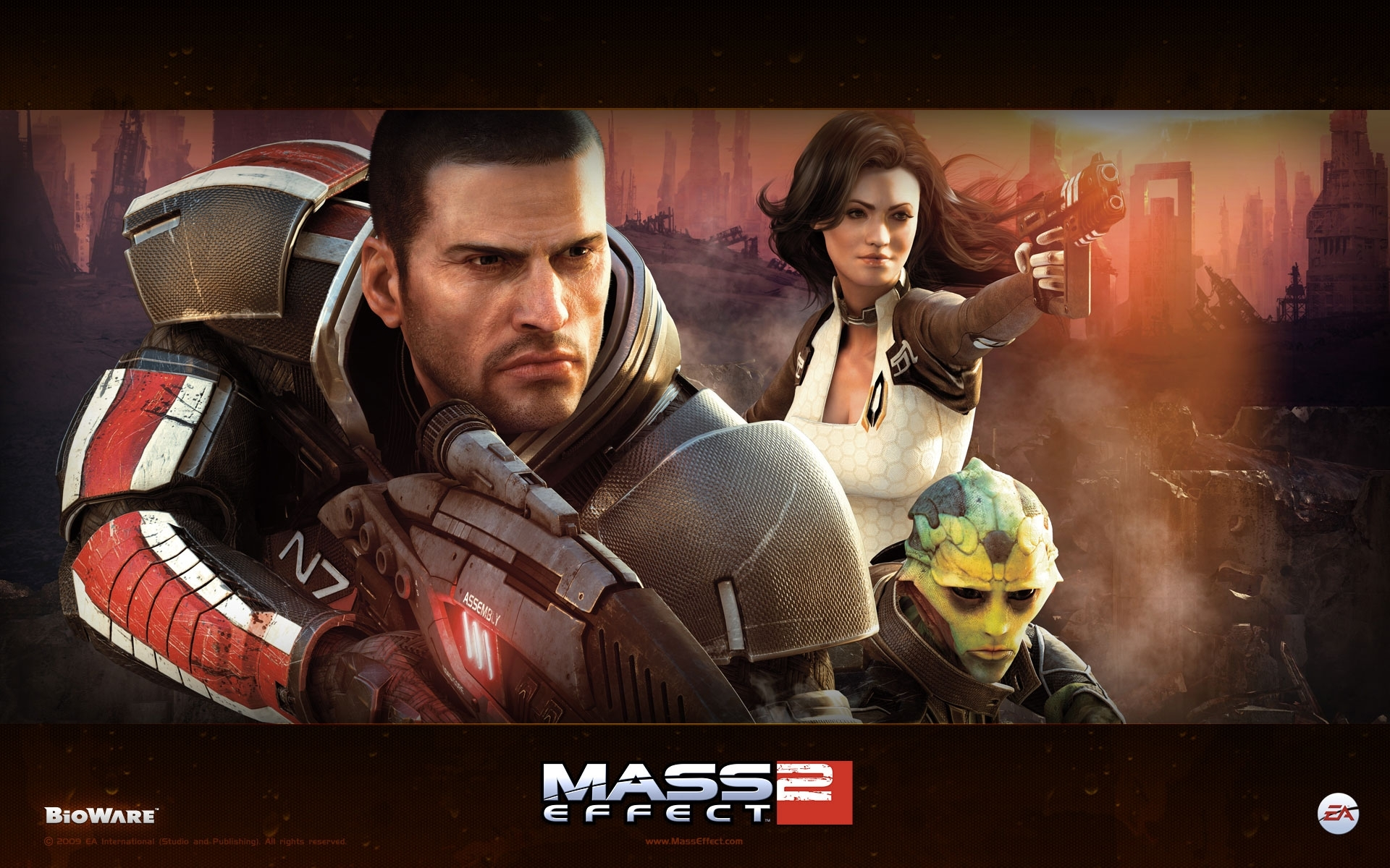 mass effect 2 wallpapers | hd wallpapers | id #7008