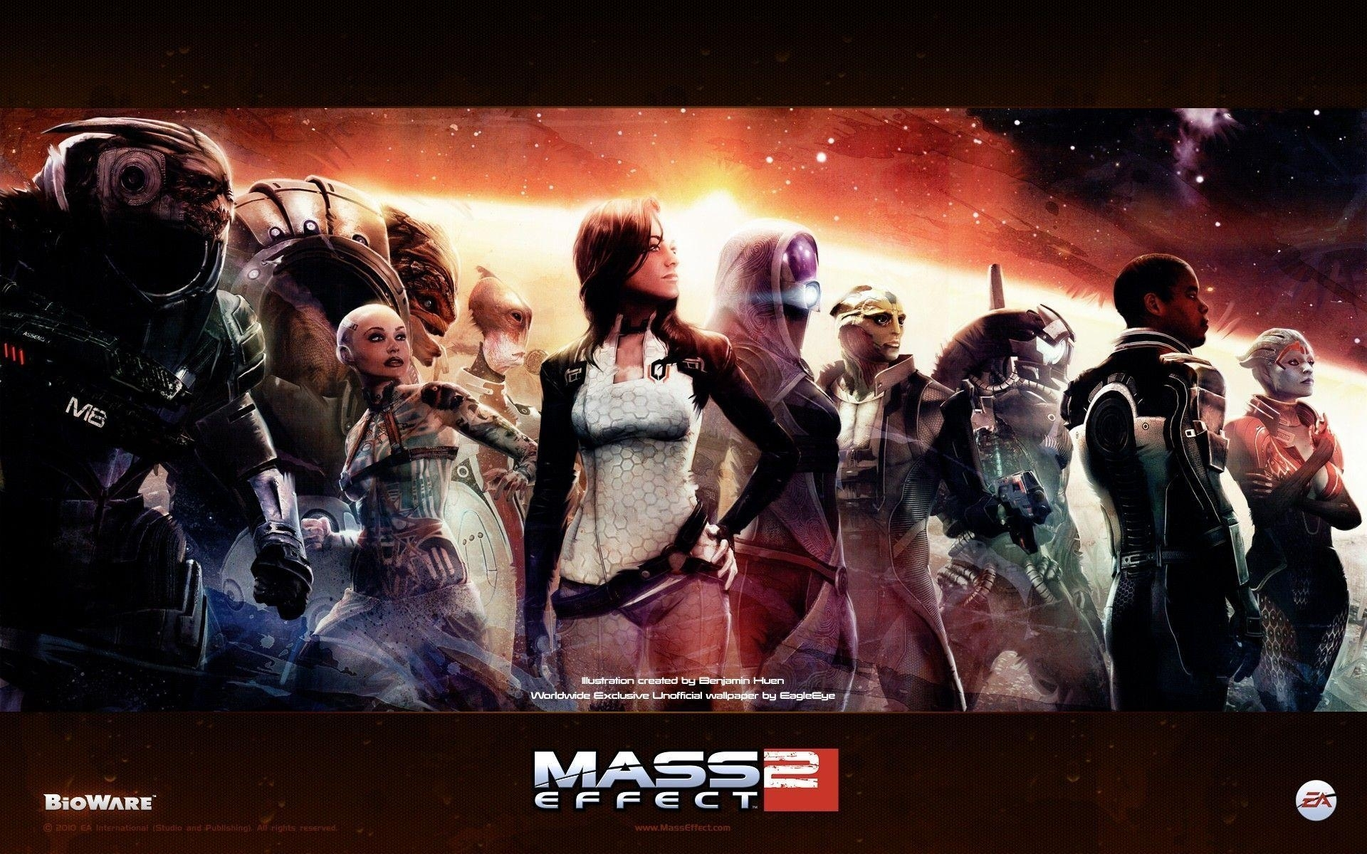 mass effect 2 wallpapers - wallpaper cave