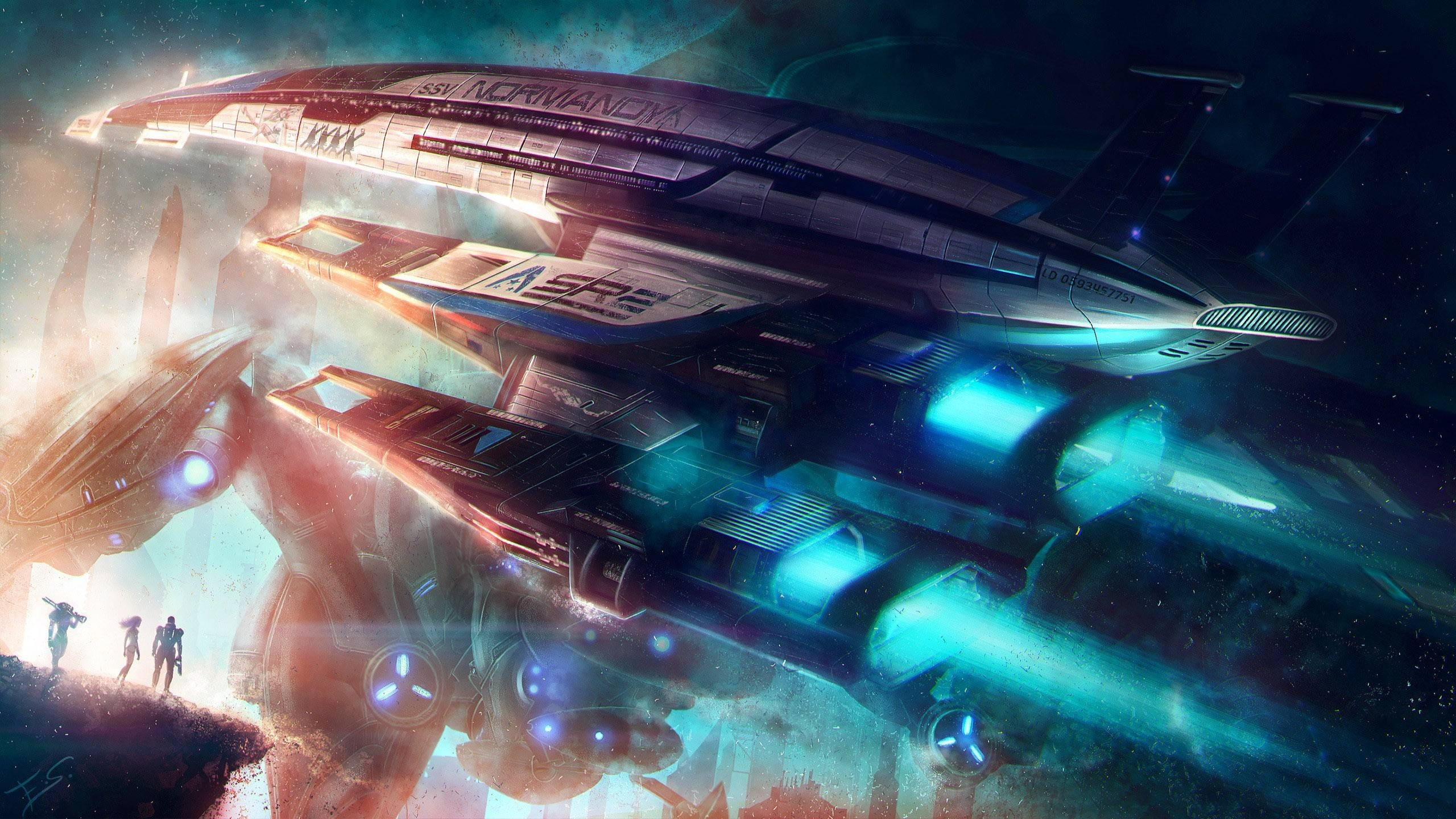 mass effect normandy wallpapers - wallpaper cave