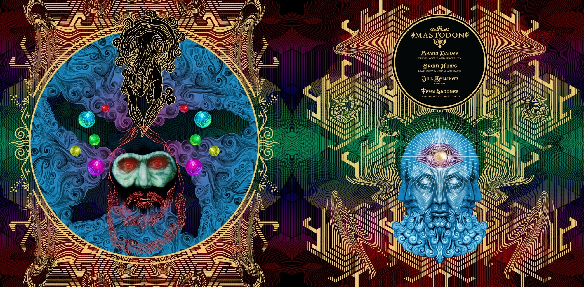 mastodon - crack the skye limited ed. lp