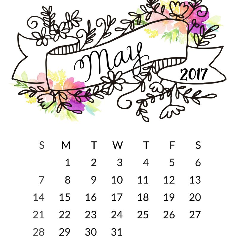 10 New May 2017 Calendar Wallpaper FULL HD 1080p For PC Background 2021 free download may 2017 calendar wallpapers wallpaper cave 800x800