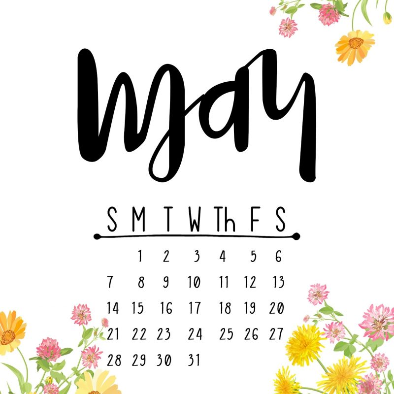 10 New May 2017 Calendar Wallpaper FULL HD 1080p For PC Background 2021 free download may 2017 printable calendar wallpapers kelly sugar crafts 800x800