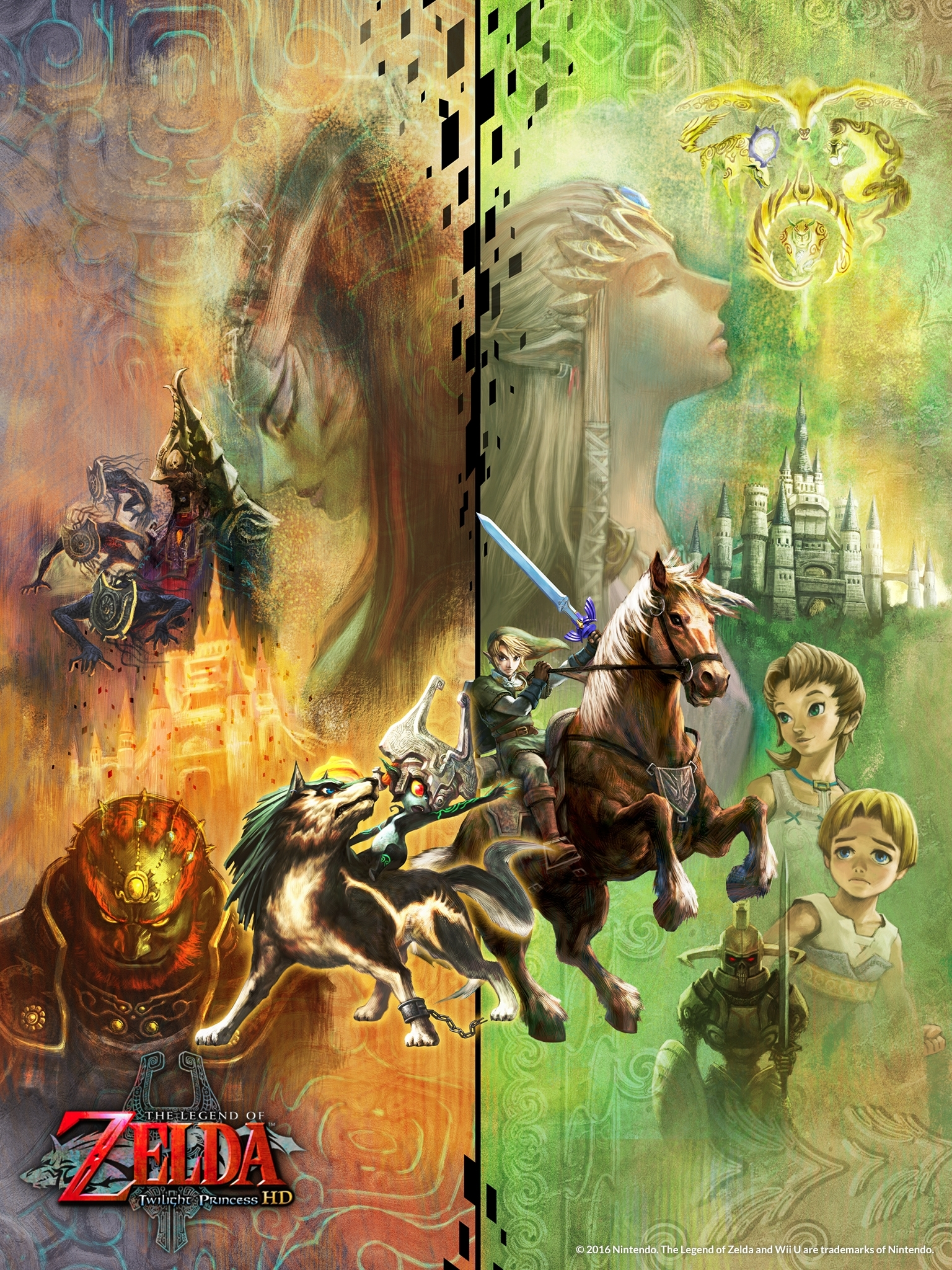 media - the legend of zelda™: twilight princess hd for wii u